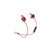 Écouteurs avec Bluetooth, double batterie et son stéréo - Rouge