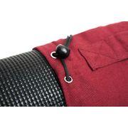 Sac de yoga Devala 100% cotton, pour les matelas de yoga 180 cm x 62 cm x 0,6 cm, poche incluse