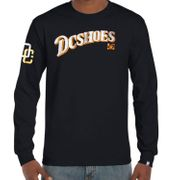 Tee-shirt manches longues DC SHOES USA Home SLV Navy Collector !