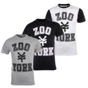 Zoo York Stone Mens Skate Fashion T-Shirt Tee White - S