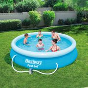 Bestway Ensemble de piscine Fast Set 366 x 76 cm 57274