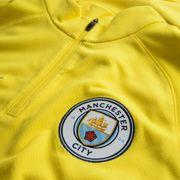 Maillot d'entraînement Nike Manchester City Drill Top 1/4 - 809683-741