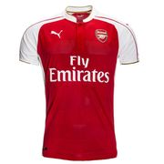 2015-2016 Arsenal Puma Home Football Shirt
