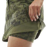 Jupe FLEX PRINT SKORT W Hunger Green Print - Femme - Randonnée