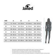 Maillot de bain de compétition Jaked Alpha Open Back noir femme