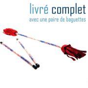 Kit Complet Baton du diable Picasso Argent / Bleu / Rouge