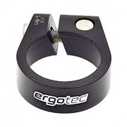 Collier de serrage de tige de selle 31,8 mm - Noir
