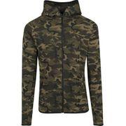 Haut de Survet Camo Urban Classics Tech Dry Fit Wood Camouflage