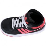 Chaussures Court Attitude Noir Fille Adidas