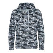 Sweat-shirt à capuche camo homme - JH014 - gris camouflage
