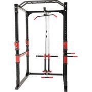 Station de traction – Cage à Squat – poulie haute et bas charge guidée - Power Lifting Gorilla sports