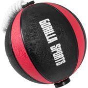 Gorilla Sports - Ballon d'exercice avec corde de- tornado ball disponible en 1kg, 2kg, 3kg et 5kg