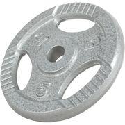 Gorilla Sports - Poids disque avec poignées de 5 Kg