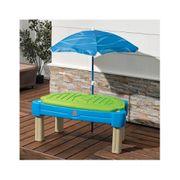 Table sable et eau Cascade avec parasol