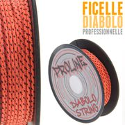 Diabolo Circus light Vert + baguettes aluminium + ficelle Proline + Sac