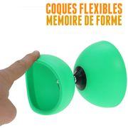 Diabolo Circus light de Henrys vert + sac + ficelle + baguettes superglass
