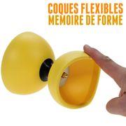 Diabolo Circus light de Henry's jaune + sac + ficelle + baguettes superglass