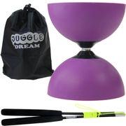 Kit diabolo Jazz Light violet + baguettes superglass + sac de rangement