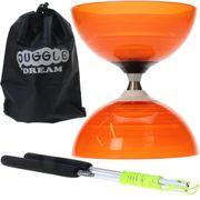 Diabolo Beach Free orange + baguettes aluminium + sac de rangement