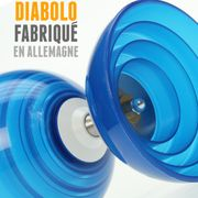 Kit diabolo Beach Free bleu + baguettes superglass + sac de rangement