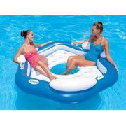 Natation Bébé BESTWAY Matelas gonflable plage piscine X3 island bleu