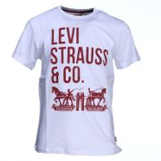 Tee Shirt Garà§on Levis N91006h 01 White