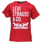 Tee Shirt Garà§on Levis N91006h 03 Red