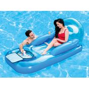 Matelas gonflable plage piscine Collerz lazy cooler loung