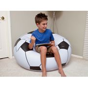 Fauteuil gonflable Beanles soccer ball chair