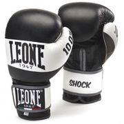 Gants de boxe cuir black/white Shock Léone Taille - 10oz