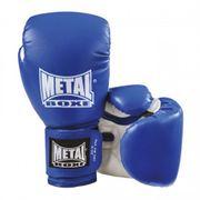 Gants initiation Metal Boxe Bleu Taille - 6oz