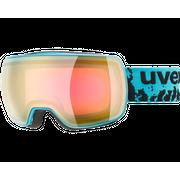 Uvex Compact FM Petrol Mirror Pink