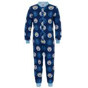 Manchester City FC officiel - Combinaison de pyjama thème football - enfant