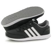 Adidas Vs Switch 2 noir, baskets mode enfant