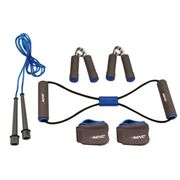PACK PRODUITS DE FITNESS - PACK PRODUITS MUSCULATION  Pack fitness 6 pieces - Bleu