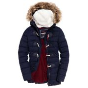 Superdry Tall Marl Toggle Puffle