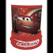 Lampe, Veilleuse Projecteur Cars Disney avec d'étoiles - unique rouge
