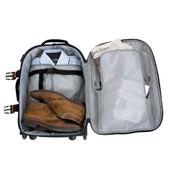 Camping et randonnée Joli Sac à roulettes JFK24 60 l noir Travelsafe TS2106