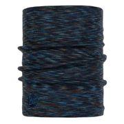 Buff Heavyweight Merino Wool Denim Multi Stripes bleu foncé