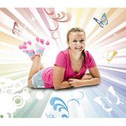 Hudora Skate Wonders - Patin à roulettes rose - Taille 35/36