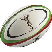 BALLON DE RUGBY  Ballon de rugby REPLICA - Harlequins - Taille Midi