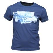 Tee Shirt Garçon Pepe Jeans Golders Jr Pb502238 591 Ink