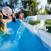 Intex Cascade de piscine LED multicolore 28090