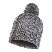 Bonnet Buff Knitted Polar Hat Liv PrimaLoft Pebble Grey gris pour femme