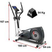 Vélo Elliptique BH i.Quantum 10005982. 20 Kg. 46 cm. Blutooth. MP3