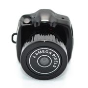 Mini caméscopes-Y2000 Ultra Mini 1280 * 720 Caméscope Vidéo Numérique Sports Caméra Soutien Carte TF
