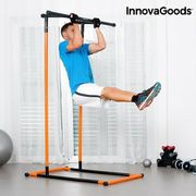BARRE POUR TRACTION - DIP STATION INNOVAGOODS Station de tractions et fitness avec guide d'exercices