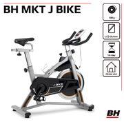 BH Fitness J-BIKE H9135RF velo biking. Idéal pour initiation. Volant d'inertie 18Kg