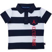 Polo bébé garçon PSG - Collection officielle PARIS SAINT GERMAIN - 6 mois