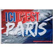 Drapeau PSG - Collection officielle PARIS SAINT GERMAIN - Taille 100 x 150 cm